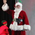 """After watching """"It's a Wonderful Life,"""" Santa Claus made an appearance at the school."""