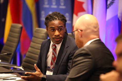 Dalyn Woody Represents SBP at Concordia Summit 2016
