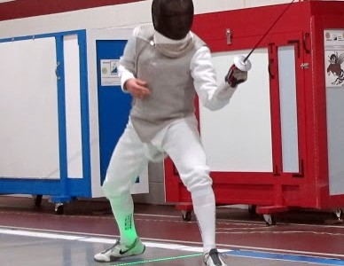 Fencing Team Loses to Masters Academy
