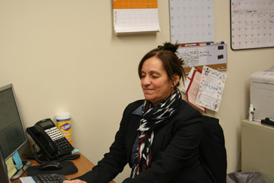 Judy Furka has taken over as Administrative Assistant.