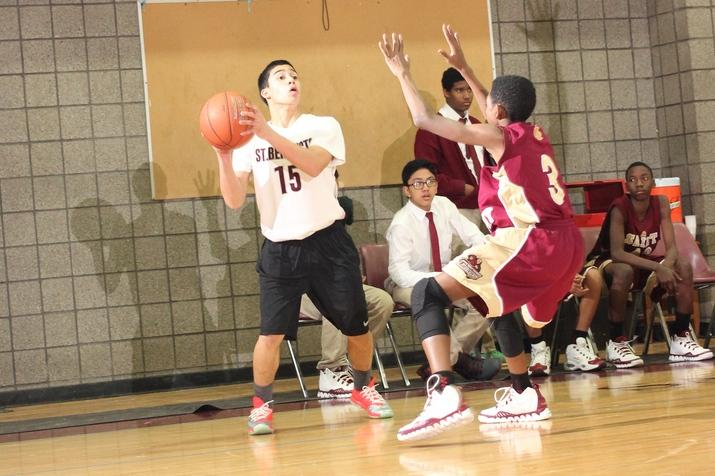 Freshman Basketball Team Dominates Against Belleville