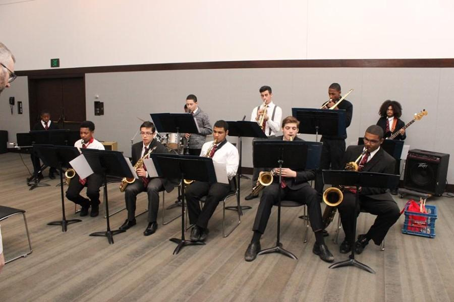 Benedict's Jazz Band Battles at Berklee