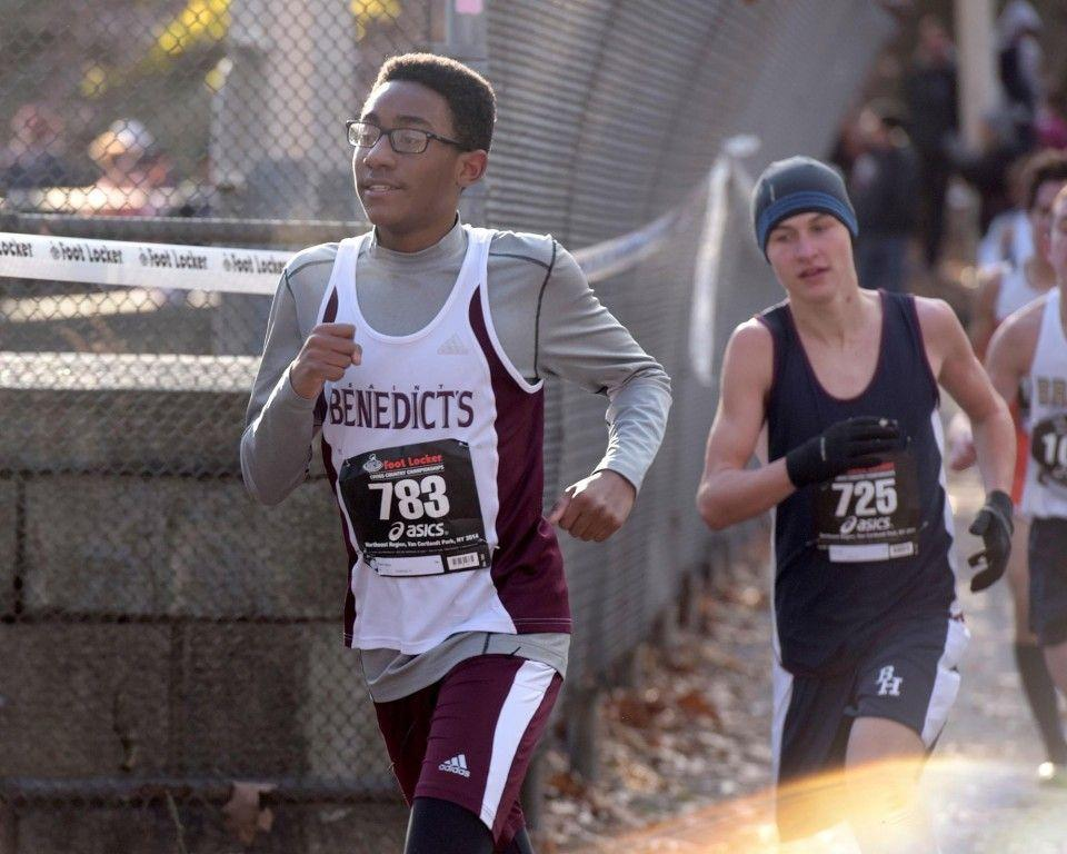 Steven Payne had medaled at 18th place in the Freshman & Sophomore race