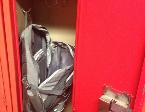 Most student items have gone missing from the Shanley Gymnasium locker room