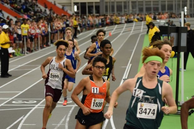 UDII Adrian Ceballo ran in the 1,000 meter race with a time of 2:43.