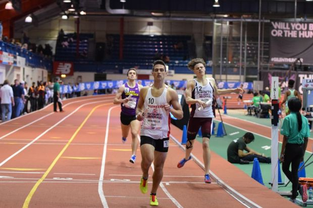 4x800m anchor Stephen Valvano ran 1:55 at the New Balance Indoor Nationals at the NY Armory.