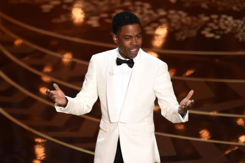 Chris+Rock+hosts+the+88th+Academy+Awards+on+Feb.+28%2C+2016%2C+in+Hollywood.+The+Oscars+broadcast+did+not+see+a+significant+decline+in+African-American+viewers+from+2015.