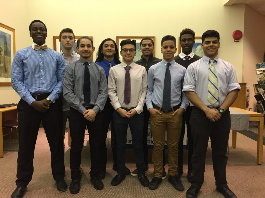 The National Honor Society Welcomes Nine New Members