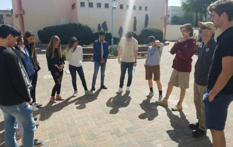 SBP in Israel 2018: In Solidarity, Staging a Walkout