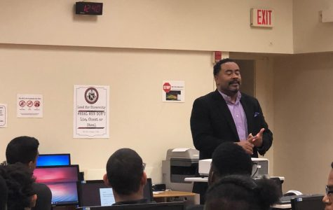 Inspired, Successful Alum Visits The Hive for The First Time in 12 Years
