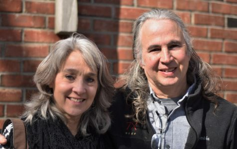Mrs. Ford (Left) and her husband (Right) were brought together by a single question: