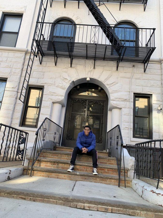 Reuben Kadushin at home in New York