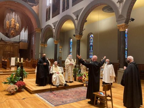 Br. Francis Woodruff, O.S.B., professes his solemn vows at St. Mary